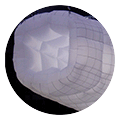 Blow productions custom cloud inflatable illuminated